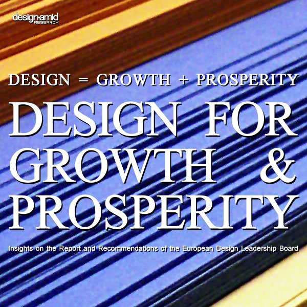 Design equals Growth plus Prosperity