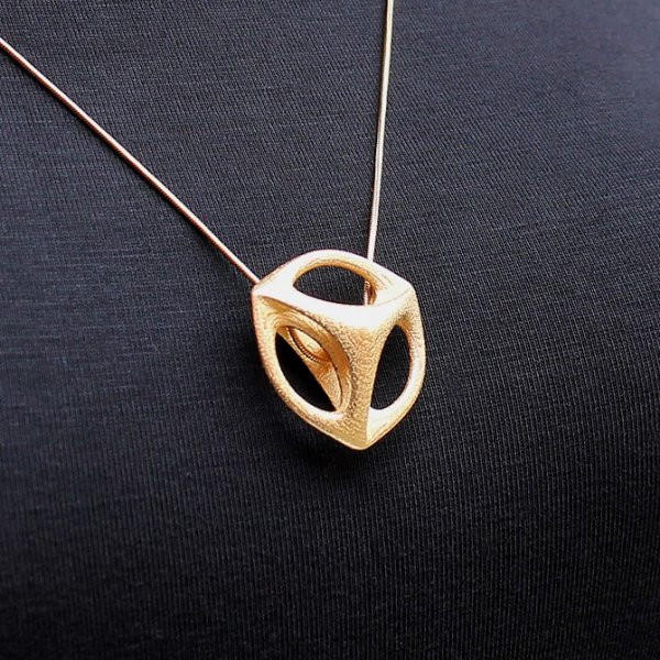 Metal Printed Jewelry Designs
