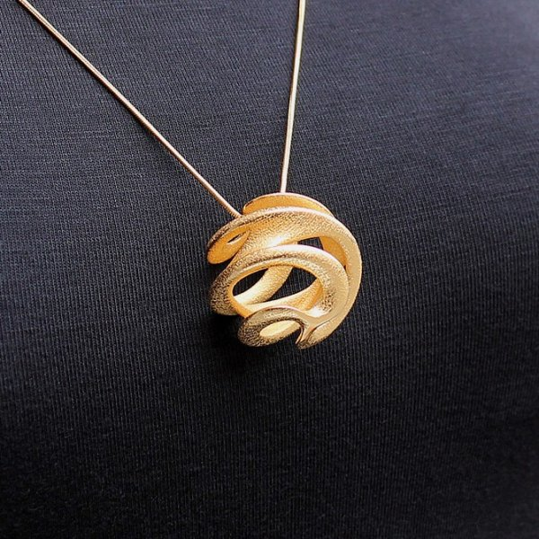 3D Metal Printed Jewelry Designs