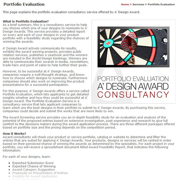 Case Study: A' Design Award & Competition