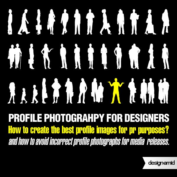 Create the best profile images for press and media