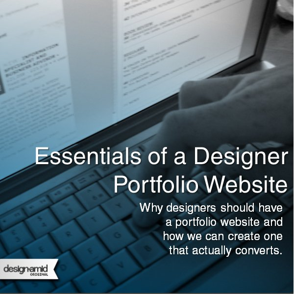 Essentials of a Designer Portfolio Website