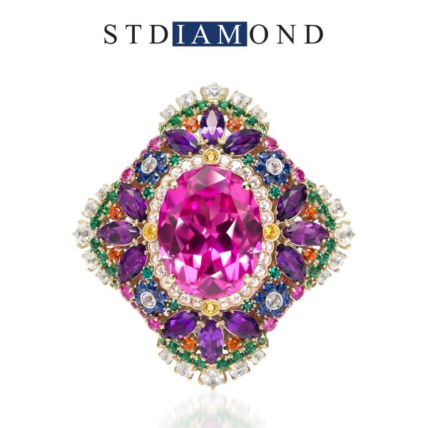 Jewelry designer Tatyana Raksha for STDIAMOND.