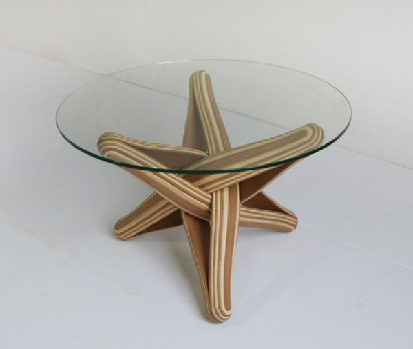what you can do with bamboo: lock bamboo coffee table