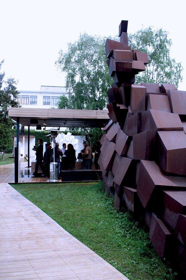 Turkish Stones' exhibition at Tortona Design District 2012
